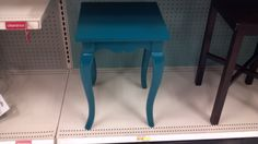 Turquoise Teal bedside table nightstand from Target