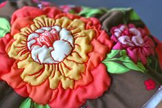 Using Heat N Shrink with machine embroidery quilting tutorials, freemot quilt, stitch, machine embroidery quilts