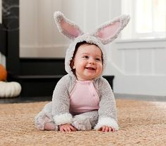 Baby Bunny Costume #PotteryBarnKids