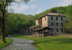 Indiana: Spring Mill State Park~My Family were among the first Pioneers to settle at Spring Mill State Park and their graves are there along with their cabins. I Love Spring Mill State Park!