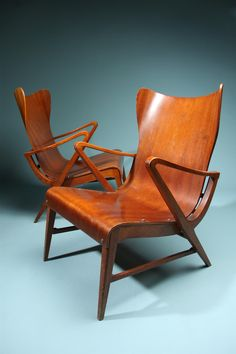Carl Axel Acking - Armchairs 1950
