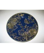 Nippon China Cobalt Blue Raised Gold Flowers 8 ... - $99.00