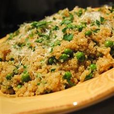 Quinoa with Peas Allrecipes.com