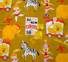 Circus Fabric