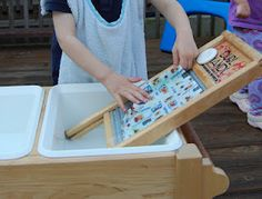 When a child is concentrating on a purposeful task, his movements naturally become more precise.