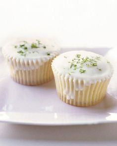 Triple-Citrus Cupcakes Recipe