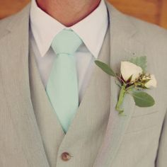 Groom attire - different tie