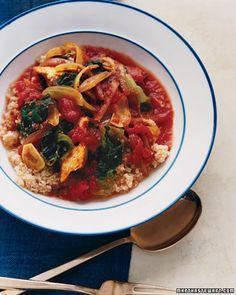 Mediterranean Chicken Stew | Whole Living