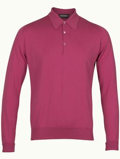 John Smedley Finchley Long Sleeve Polo Shirt - Rosebud - Available to buy at http://www.afarleycountryattire.co.uk/product-tag/john-smedley-finchley-long-sleeve-polo-shirt/ #johnsmedley #mensfashion #poloshirt #afarleycountryattire