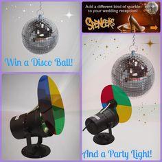 parti disco, disco freak, disco ball, disco light, ball kit, the bride, brokeass bride