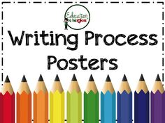 writing process posters free