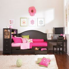 decor, idea, hous, bedrooms, furniture, daybeds, kid room, bedroom set, girl rooms