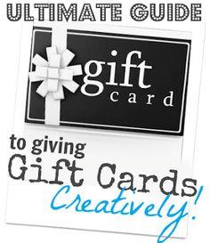 20+ Creative Gift Card Ideas