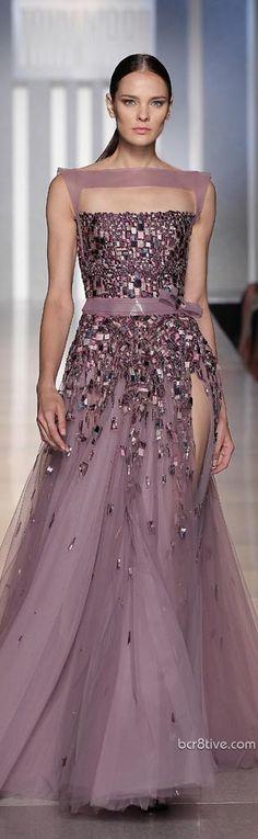 Tony Ward Haute Couture Fall Winter 2013  Purple Dress #2dayslook #PurpleDress #lily25789 #watsonlucy723     www.2dayslook.nl