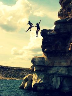 Do something that will build confidence! Go jump off a cliff, skydive, mountain bike, rock climb, yup just do it!
