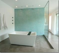 Double Shower & Bathtub. I would never leave.