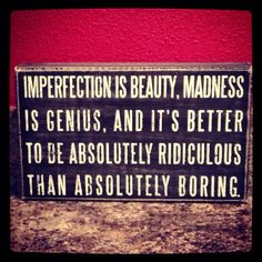 Marilyn Monroe I have this quote tattooed