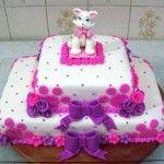 Gatinha Marie bolo 150x150 Bolo de aniversário Gatinha Marie