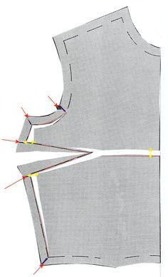 Seam Method Alteration for Full Bust