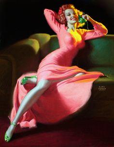 *Pinup...Remember Me?  Artist:Earl Moran  Date:1949