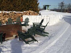 Michigan's one and only Ice Bar at Treetops Resort, Gaylord Michigan! #treetopsresort