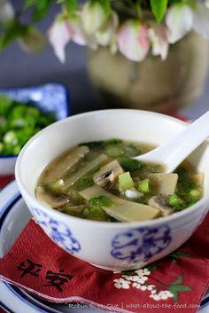 Homemade Hot & Sour Soup