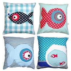 Coussin poissons