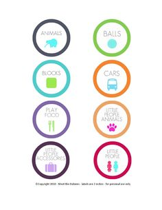 Free Printable Toy Labels   Meet the Dubiens