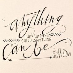Anything can happen /