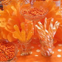 Orange Birthday Party
