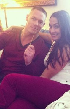 The Greatest Story Love Has Ever Told: John Cena and Nikki Bella   read it all its amazing
