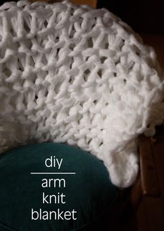 Arm Knit Blanket - N