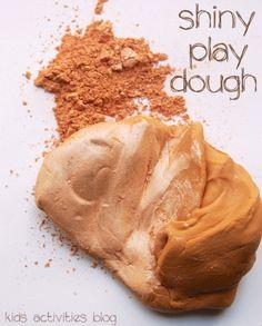 DIY: Make It Shine: {Super Shiny} Play Dough Ideas