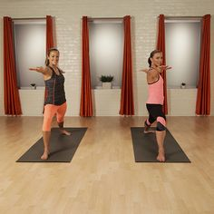 Great 10-minute yoga sequence from YogaWorks! It will power up your legs and challenge your core. body workouts, fitness workouts, yoga fitness, yoga flow, yoga workouts, thigh exercises, workout exercises, power yoga, yoga sequences