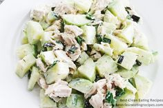 Clean Eating Recipe – Chicken Cucumber Dill Salad | Best Clean Eating Recipes | Clean Eating Diet Plan and Recipes