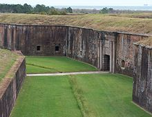 We head to Gulf Shores, Fort Morgan is a neat place to visit if your like historic sites