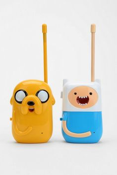 Adventure Time Walkie-Talkie - Set Of 2 #urbanoutfitters