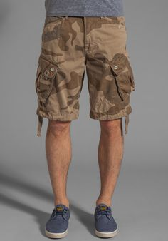 G-STAR Rovic Loose Camouflage 1/2 Short in Grege at Revolve Clothing