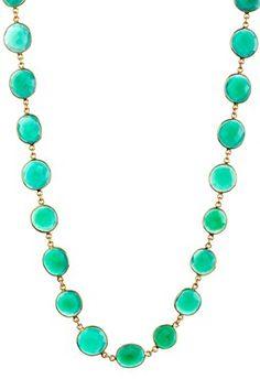 Rivka Friedman Green Onyx Necklace