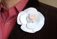 How to Make a Camellia Boutonniere