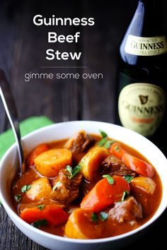 Guinness Beef Stew | gimmesomeoven.com