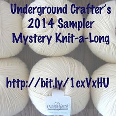 2014 Sampler Mystery Knit-a-Long with Underground Crafter