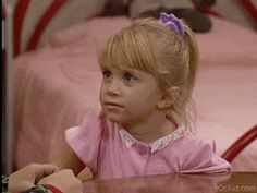 Michelle had perfected the eye roll by age 3. | 21 Reasons Michelle Tanner Was The Cutest Child To Ever Grace Your TV Set