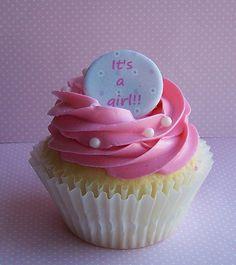 baby shower cupcake #baby #babies #babyshower #cupcakes