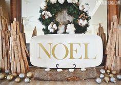 DIY Christmas Noel p