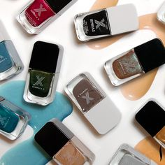 Check out The Cut – Fall Collection from Formula X and the debut of The Brushed Metallics. #Nails #Sephora #Beauty #NailTrends