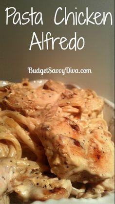 Pasta Chicken Alfredo