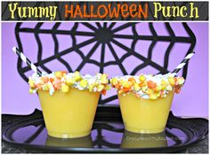 Yummy Halloween Punch Recipe #Recipe #Halloween