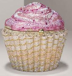 Judith Leiber cupcake purse - ala sex and the city... I've held one in my hand before, and it's brilliance.