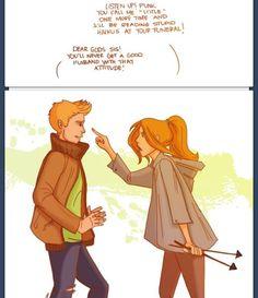 Apollo and Artemis.....